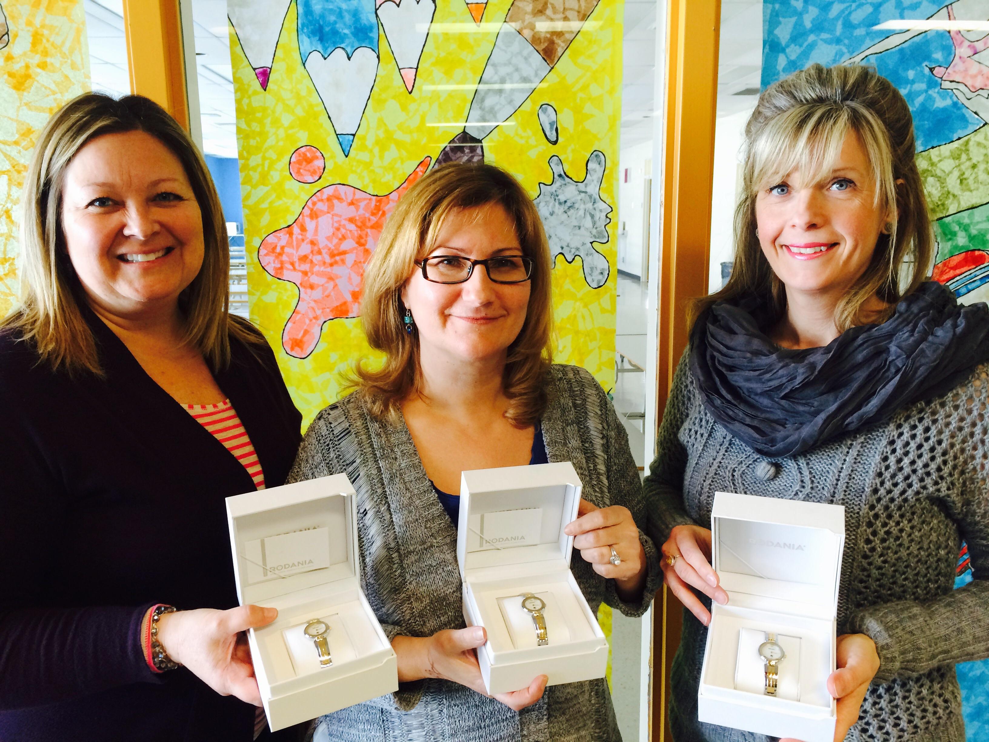 Bravo à trois enseignantes…