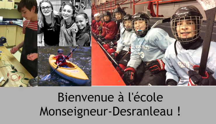 Informations sur le secondaire et les options